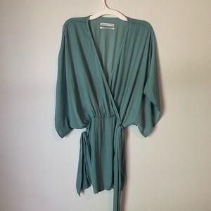 Light Turquoise Dress - Women's S